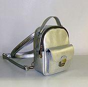 Сумки и аксессуары handmade. Livemaster - original item Backpack leather 51s. Handmade.