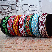 Русский стиль handmade. Livemaster - original item Bracelets 7 pieces in one lot!!!. Handmade.