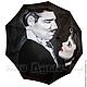 """Зонты ручной работы. Зонт дизайнерский с ручной росписью """"Унесенные ветром"""". BelkaStyle -кеды, зонты, одежда. Интернет-магазин Ярмарка Мастеров."""