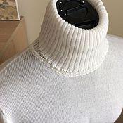 Одежда ручной работы. Ярмарка Мастеров - ручная работа Водолазка из кашемира с шелком. Handmade.