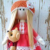 Куклы и игрушки ручной работы. Ярмарка Мастеров - ручная работа Кукла текстильная Клара. Handmade.
