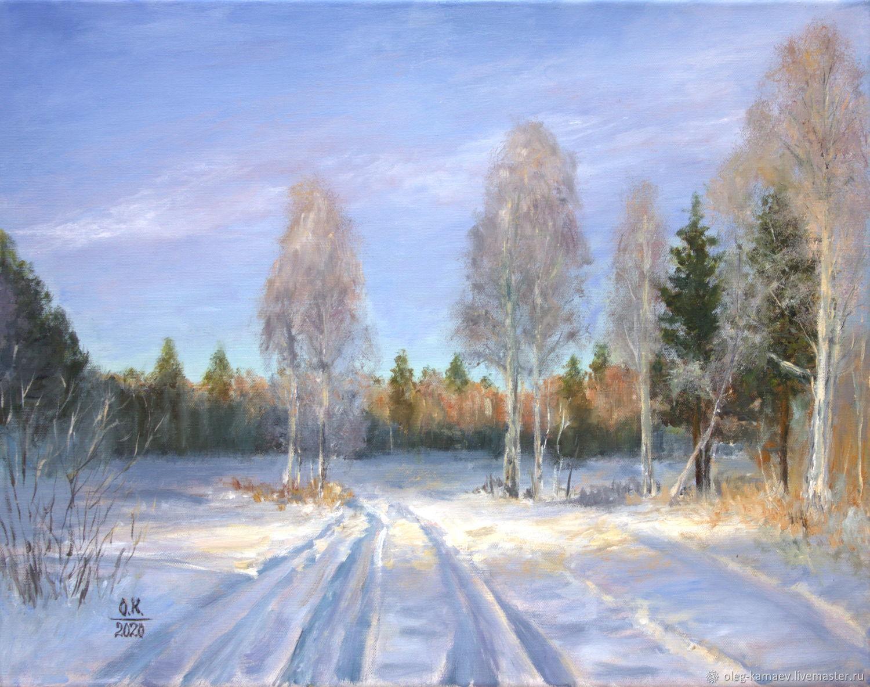 Последний день зимы, Картины, Екатеринбург,  Фото №1