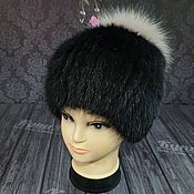 Аксессуары handmade. Livemaster - original item Muskrat hat model
