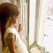 Платья ручной работы. Ярмарка Мастеров - ручная работа Пышное Платье из фатина  «маленькая леди». Handmade.
