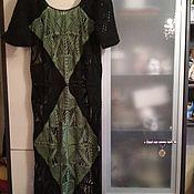 Одежда ручной работы. Ярмарка Мастеров - ручная работа платье крючком. Handmade.