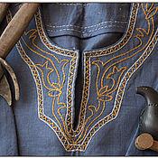 Одежда ручной работы. Ярмарка Мастеров - ручная работа Рубаха мужская Викинг. Handmade.