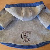 Для домашних животных, ручной работы. Ярмарка Мастеров - ручная работа курточка с вышивкой. Handmade.