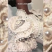 """Одежда ручной работы. Ярмарка Мастеров - ручная работа Объёмное болеро """"Versailles"""" от Olga Lace. Handmade."""