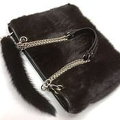 Сумки и аксессуары handmade. Livemaster - original item Handbag made of mink