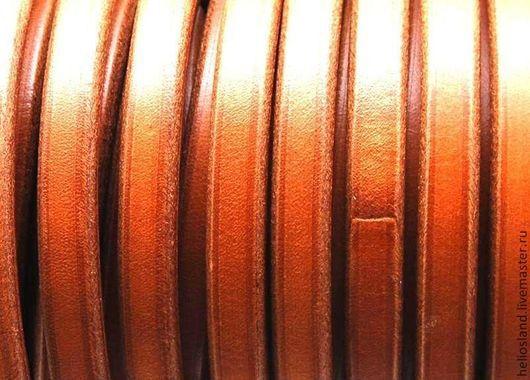 Для украшений ручной работы. Ярмарка Мастеров - ручная работа. Купить Кожаный шнур REGALIZ Camel. Handmade. Регализ