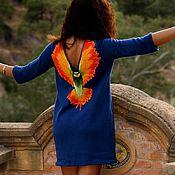 """Одежда ручной работы. Ярмарка Мастеров - ручная работа Платье """" Полёт колибри """". Handmade."""