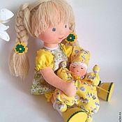 """Куклы и игрушки ручной работы. Ярмарка Мастеров - ручная работа """"Доброе солнышко"""" кукла вальдорфская 36 см. Handmade."""