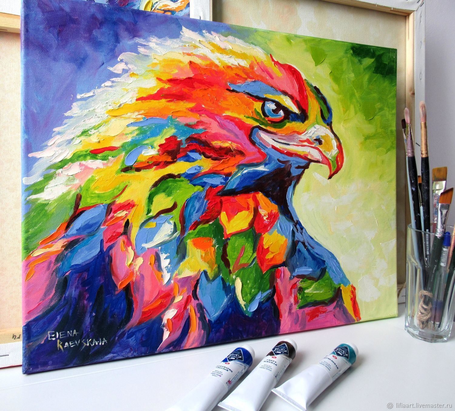 'Eagle' oil painting, Pictures, Belgorod,  Фото №1