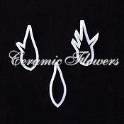 Материалы для творчества handmade. Livemaster - original item A set of cutters sepals rose, plastic. Handmade.
