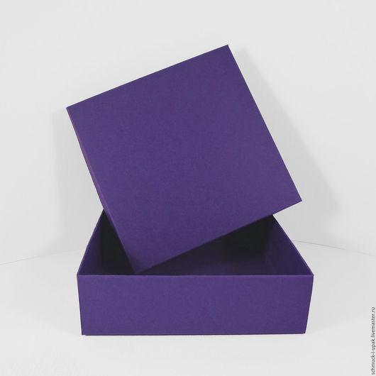 Упаковка ручной работы. Ярмарка Мастеров - ручная работа. Купить Коробки без печати сине-фиолетовые. Handmade. Коробки