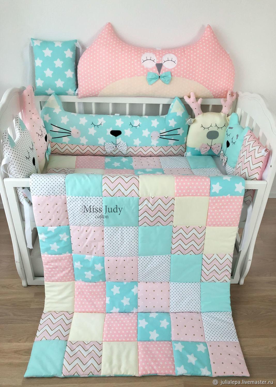 Лоскутное одеяло - покрывало 160х90см, Одеяло для детей, Москва,  Фото №1