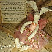 Куклы и игрушки ручной работы. Ярмарка Мастеров - ручная работа Текстильная Зайка. Handmade.