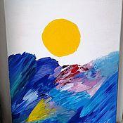Картины ручной работы. Ярмарка Мастеров - ручная работа Картины: Морская. Handmade.