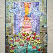 """Картины и панно ручной работы. Ярмарка Мастеров - ручная работа Панно""""Лето.Яблочный спас"""". Handmade."""
