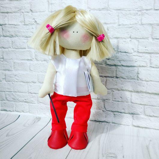 Коллекционные куклы ручной работы. Ярмарка Мастеров - ручная работа. Купить Большеножка 10. Handmade. Учитель, большеножка, кукла девушке