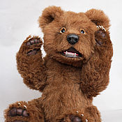 Куклы и игрушки ручной работы. Ярмарка Мастеров - ручная работа Даниель, медведь натюр. Handmade.