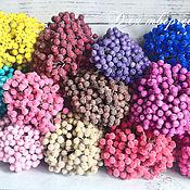 Фрукты искусственные ручной работы. Ярмарка Мастеров - ручная работа Ягоды в сахаре (рябина засахаренная). Handmade.
