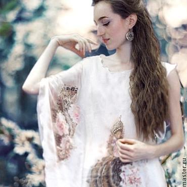 Одежда ручной работы. Ярмарка Мастеров - ручная работа Платье Батик Розовый цвет. Handmade.