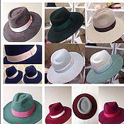 Аксессуары ручной работы. Ярмарка Мастеров - ручная работа Фетровые шляпы. Handmade.