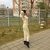 Одежда ручной работы. Ярмарка Мастеров - ручная работа Костюм вязаный,костюм тёплый,костюм повседневный,костюм женский!Хит!. Handmade.