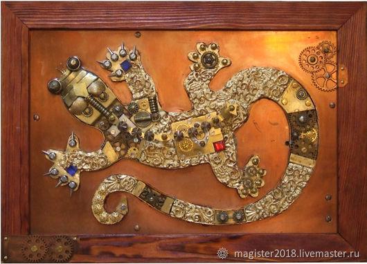 Панно Игуана, Картины, Тольятти, Фото №1