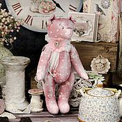 """Куклы и игрушки ручной работы. Ярмарка Мастеров - ручная работа Мишка """"Рози"""". Handmade."""
