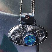 Украшения handmade. Livemaster - original item opal suspension