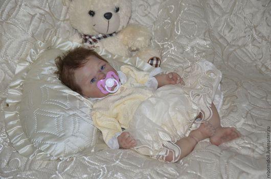 Куклы-младенцы и reborn ручной работы. Ярмарка Мастеров - ручная работа. Купить Кукла реборн силиконовая Машуля. Handmade.