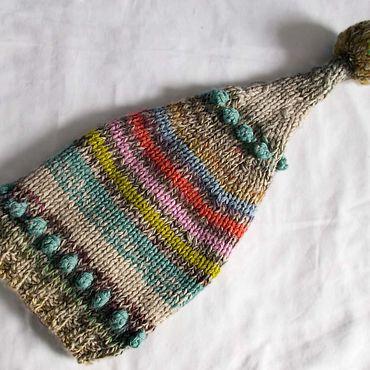 Одежда ручной работы. Ярмарка Мастеров - ручная работа Шапка вязаная детская Колпачок. Handmade.