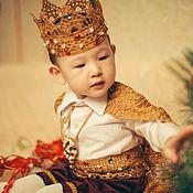 Карнавальный костюм ручной работы. Ярмарка Мастеров - ручная работа Костюм принца с короной. Handmade.