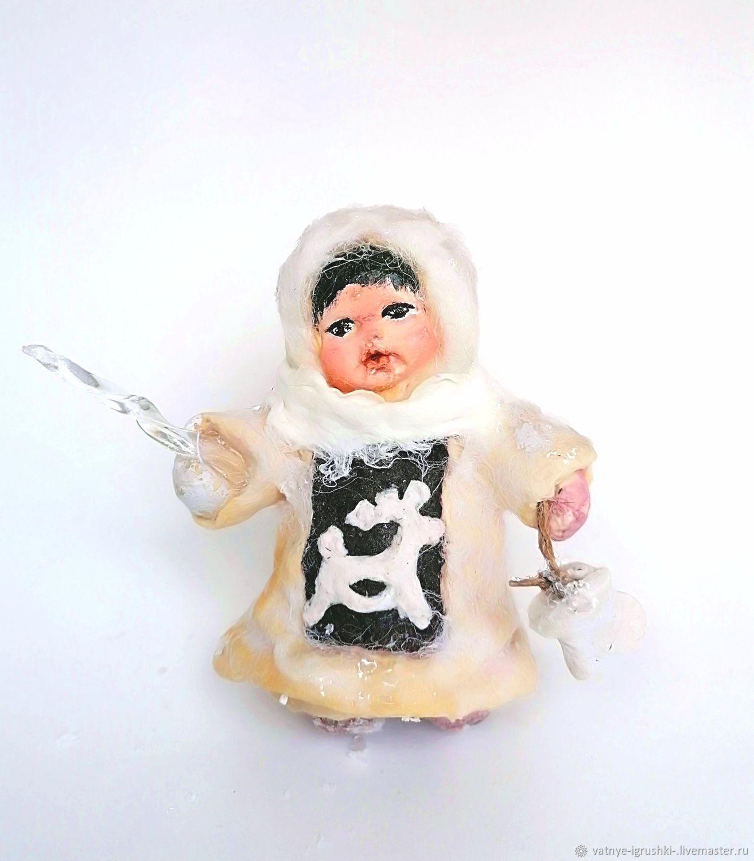 Игрушка на елку  Северный малыш с сосулькой, Игрушки, Новокубанск,  Фото №1