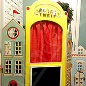 Куклы и игрушки ручной работы. Ярмарка Мастеров - ручная работа Ширма Театр.. Handmade.