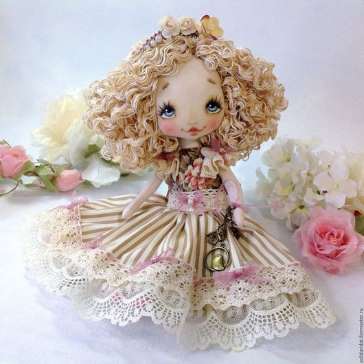 Ароматизированные куклы ручной работы. Ярмарка Мастеров - ручная работа. Купить Alisha. Handmade. Коллекционная кукла, текстильная кукла