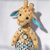 Куклы и игрушки ручной работы. Ярмарка Мастеров - ручная работа Жираф Афанасий. Handmade.