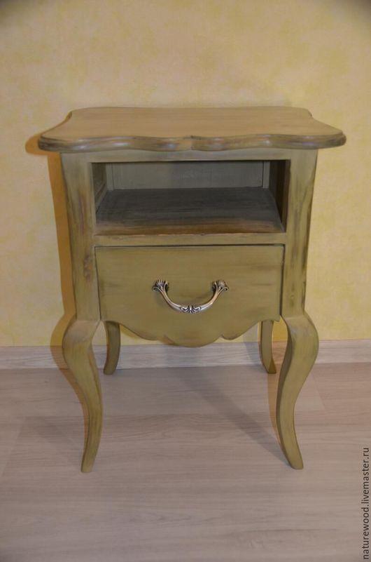 Мебель ручной работы. Ярмарка Мастеров - ручная работа. Купить Тумбочка vintage. Handmade. Прикроватная тумбочка, мебель из дерева, винтаж