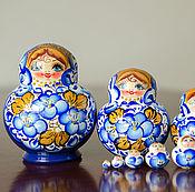 Русский стиль handmade. Livemaster - original item Matreshka 10 places. Handmade.
