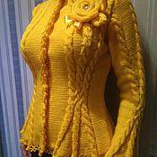 Sweater Jackets handmade. Livemaster - original item Jackets: Sundial. Handmade.