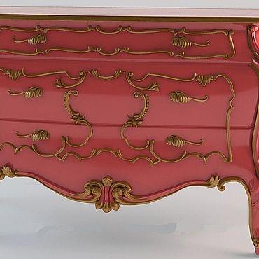 Мебель ручной работы. Ярмарка Мастеров - ручная работа Комоды из бука (№017). Handmade.