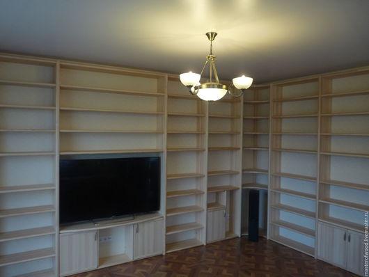 Мебель ручной работы. Ярмарка Мастеров - ручная работа. Купить Библиотека. Handmade. Комбинированный, библиотека из дерева, сосна