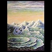 """Картины и панно ручной работы. Ярмарка Мастеров - ручная работа """"Анти-гравитация"""" - часть диптиха - коллекционная картина. Handmade."""