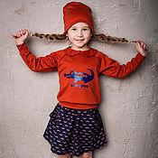 """Работы для детей, ручной работы. Ярмарка Мастеров - ручная работа Комплект тройка """"CROCOCO Red"""". Handmade."""