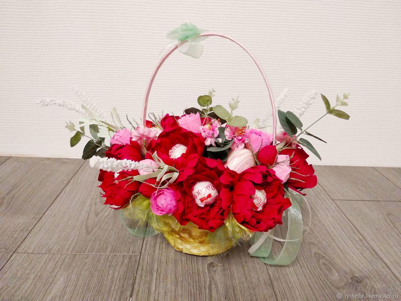 Букет из конфет  Красные розы  шикарный подарок на любой праздник!, Букеты, Всеволожск, Фото №1