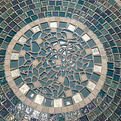 Для дома и интерьера handmade. Livemaster - original item Wrought iron mosaic table