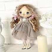 Портретная кукла ручной работы. Ярмарка Мастеров - ручная работа Текстильная шарнирная кукла Аннет. Handmade.