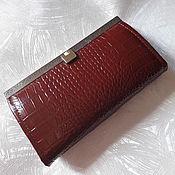 Сумки и аксессуары handmade. Livemaster - original item Women`s wallet